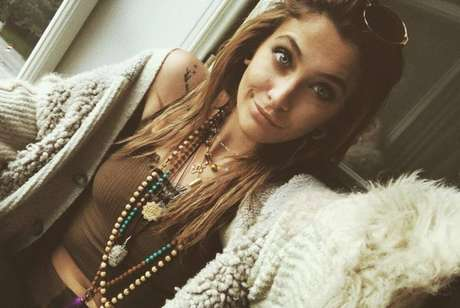Paris Jackson, filha do cantor e 'rei do pop' Michael Jackson.