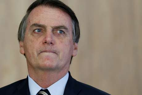 Presidente Jair Bolsonaro, no Palácio do Planalto 08/03/2019 REUTERS/Adriano Machado