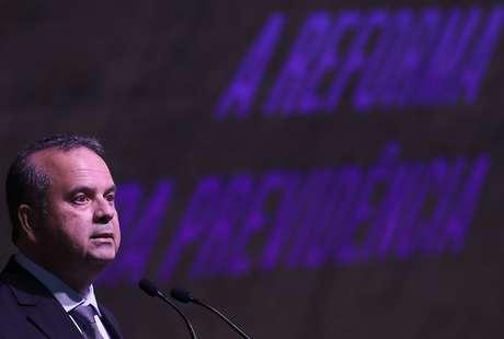 Secretário especial de Previdência e Trabalho do Ministério da Economia, Rogério Marinho, durante evento no Rio de Janeiro 15/03/2019 REUTERS/Ricardo Moraes