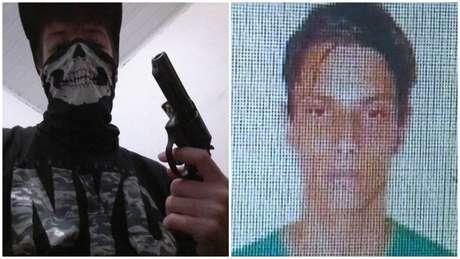 G.T.M. (à esquerda) tinha 17 anos; e Luiz Henrique de Castro (à direita), 25