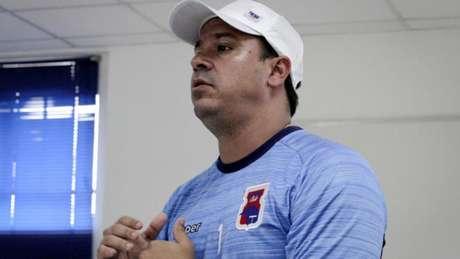 Time do técnico Dado Cavalcanti ficou chateado com a postura dos jogadores na derrota do fim de semana (Foto: Divulgação/ Paraná Clube)