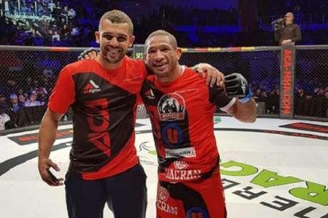 Hacran Dias conquistou a segunda vitória após deixar o UFC (Foto: Reprodução/Instagram)