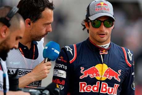 """Sainz defendeu sua saída da Red Bull: """"Fiz conscientemente e acredito que foi uma boa decisão"""""""