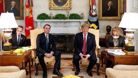 Bolsonaro e Trump fecharam acordos em várias áreas