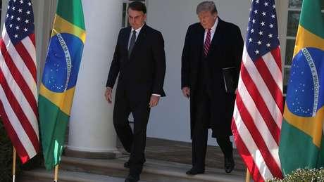 Medidas anunciadas no encontro entre Bolsonaro e Trump celebram aproximação com o governo americano - mas elas agora precisam passar pelo teste da concretização