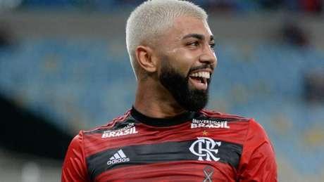 Alegria: Gabigol fez os dois gols da vitória do Flamengo (Foto: Alexandre Vidal/Flamengo)