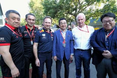 Horner disse que pódio de Verstappen fez o chefe da Honda chorar