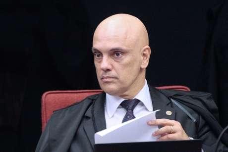 Ministro Alexandre de Moraes durante sessão da Primeira Turma do STF. (19/03/2019)