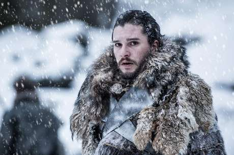 Kit Harington como Jon Snow em 'Game of Thrones'