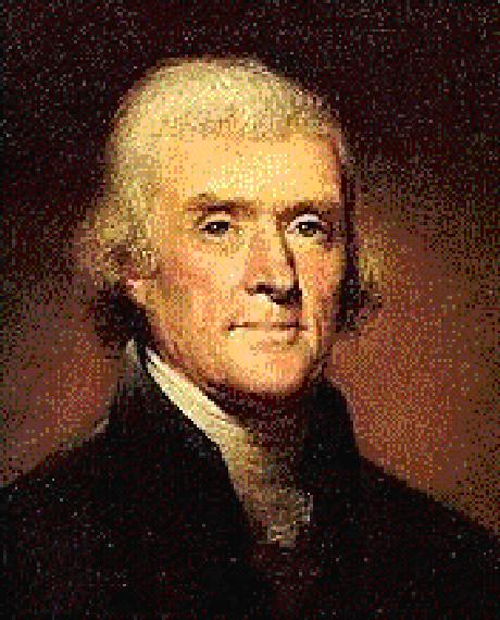 Thomas Jefferson, a sua Primeira Emenda garantiu a livre expressão