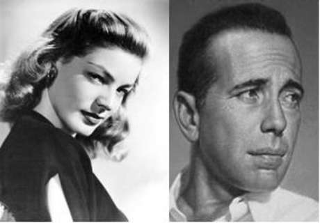 Lauren Bacall e H.Bogarth, casal sob suspeita