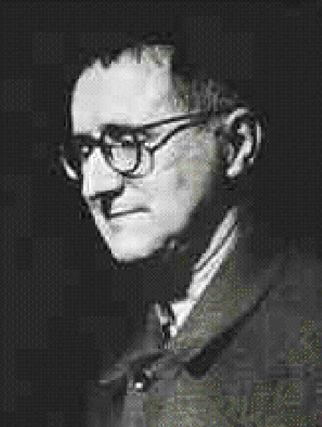 O teatrólogo Bertold Brecht