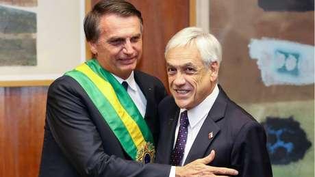 Bolsonaro chega ao país na tarde desta quinta e se reúne com o presidente chileno, Sebastián Piñera, no sábado