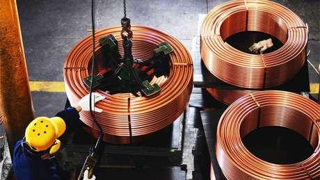 Cobre é o principal produto da pauta de exportações do Chile
