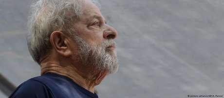 Lula está preso desde abril de 2018 em Curitiba