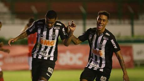 Alerrandro deixou a sua marca no jogo e chegou ao oitavo gol na competição estadual- Divulgação Twitter Atlético MG