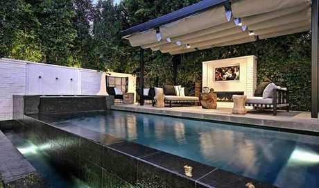 Quem também queria nadar nessa piscina da mansão do Justin Bieber?