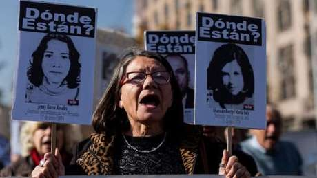 Ano após ano, parentes clamam por seus entes queridos. 'Onde estão?' é um dos slogans da Associação dos Familiares dos Detidos Desaparecidos