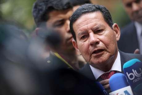 Presidente em exercício Hamilton Mourão 25/02/2019 REUTERS/Luisa Gonzalez