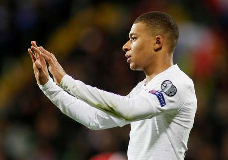 Kylian Mbappé, atacante do Paris Saint-Germain