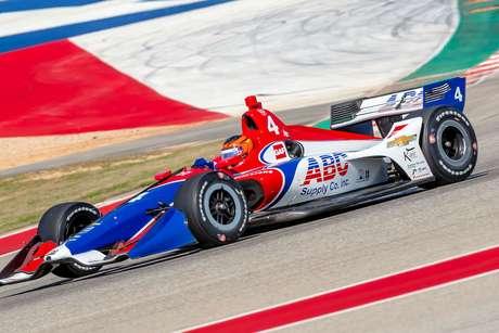 Matheus Leist estreia no Circuito das Américas em prova especial para a história da IndyCar