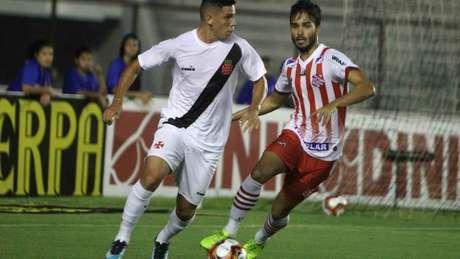 O Vasco perdeu o último jogo que disputou com o Bangu por 2 a 0, em São Januário (Paulo Fernandes/Vasco.com.br)