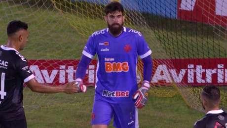 Fernando Miguel se tornou titular do gol do Vasco na temporada (Foto: Reprodução)