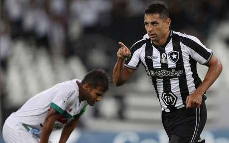 Diego Souza marcou seu primeiro gol pelo Botafogo (Foto: Vitor Silva/SS Press/Botafogo)
