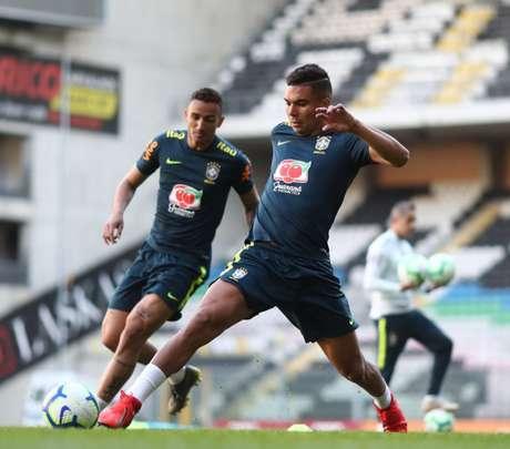 Casemiro comenta sobre ser o capitão do Brasil: 'Uma honra' (Foto: Lucas Figueiredo/CBF)