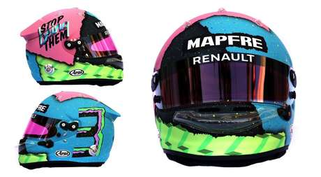 """Ricciardo afirma que """"Pare de ser eles"""" em seu capacete não é direcionado à Red Bull"""