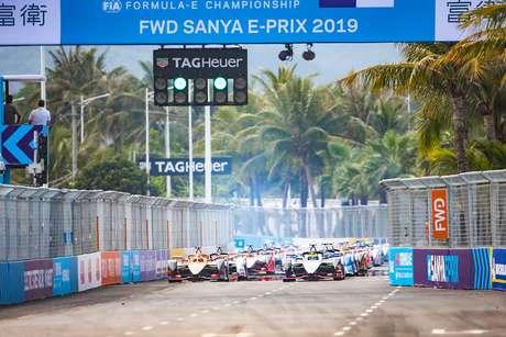 VÍDEO: melhores momentos do ePrix de Sanya, 6ª etapa da Fórmula E 2018/19