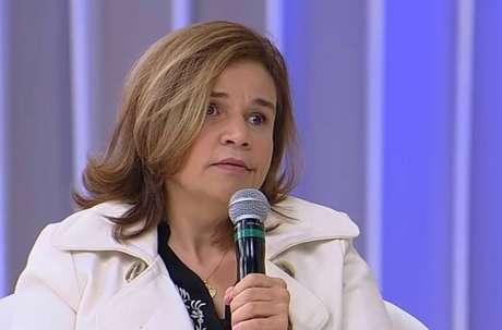 A atriz Claudia Rodrigues.