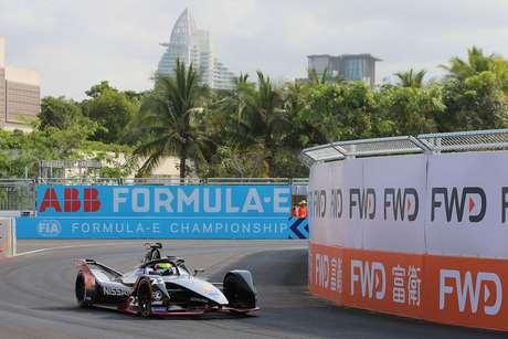 ePrix de Sanya: em domínio da Nissan, Sebastien Buemi bate e pole fica com Oliver Rowland