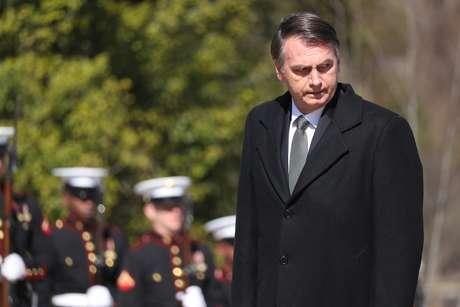 Presidente Jair Bolsonaro durante visita aos Estados Unidos