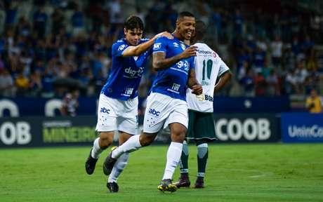 O time celeste conta com o bom momento do atacante David, que fez um grande jogo diante da Caldense-(Foto: Bruno Haddad/Cruzeiro)