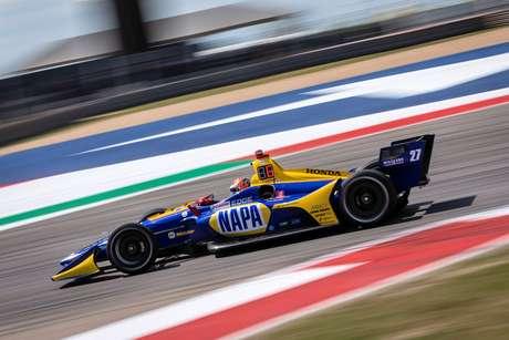 IndyCar Classic: Alexander Rossi lidera domínio da Honda no último treino no Circuito das Américas