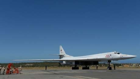 Aeronave desenhada pelos soviéticos chegou à Venezuela no ano passado