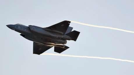 Caças F-35 estão na lista de armamentos mais vendidos