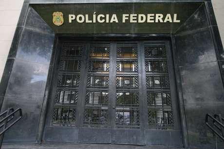 Fachada da sede da Polícia Federal