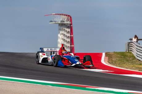 IndyCar Classic: Matheus Leist é destaque no Texas e conquista sexta fila com a Foyt