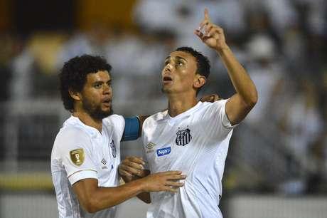 Com gol de Diego Pituca, o Santos venceu o Red Bull Brasil por 2 a 0 na partida de ida das quartas de final do Paulistão 2019