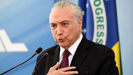 Justiça manda soltar o ex-presidente Michel Temer