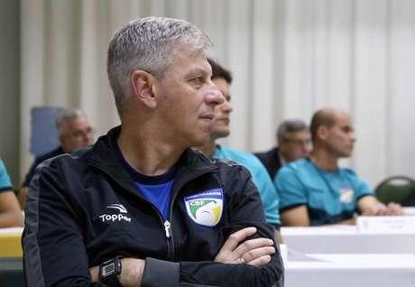 Ednílson Corona, presidente Comissão Arbitragem da Federação Paulista de Futebol