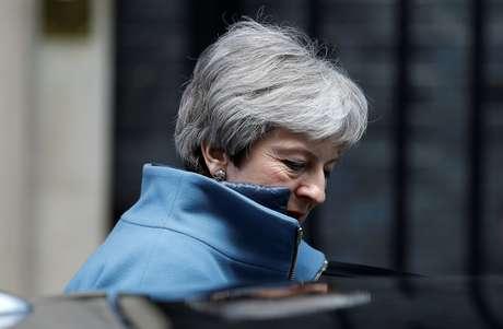 Premiê britânica, Theresa May 25/03/2019 REUTERS/Peter Nicholls