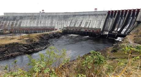 Vista da hidrelétrica de Guri, no Estado de Bolívar, Venezuela 26/02/2010 REUTERS/Jorge Silva