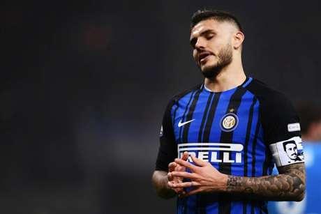 Mauro Icardi deve voltar ao time da Inter nas próximas partidas (Foto: Marco Bertorello/AFP)