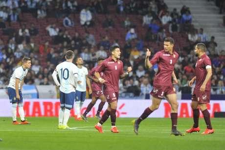 Argentina vem de derrota para a Venezuela (Maxi Failla)