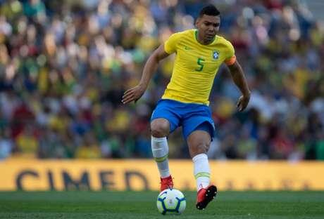 Casemiro tem sido um dos atletas mais eficientes da Seleção (Foto: Pedro Martins/MoWA Press)
