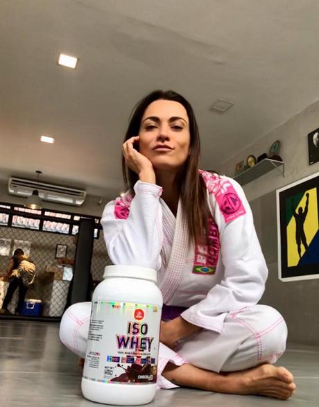 Cacá Esposito está no Jiu-Jitsu há cinco anos e pretende seguir evoluindo na modalidade (Foto: Divulgação)