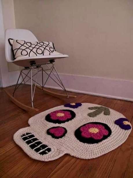 8. O tapete de crochê pode ser encontrado em diversos formatos – Foto: Etsy